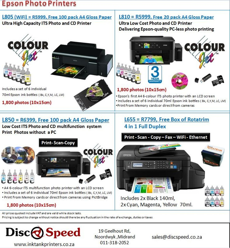 Epson printer not printing coupons