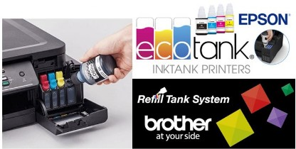 Brother and Epson Ink Tank Printers at Discspeed - Epson Ink Tank