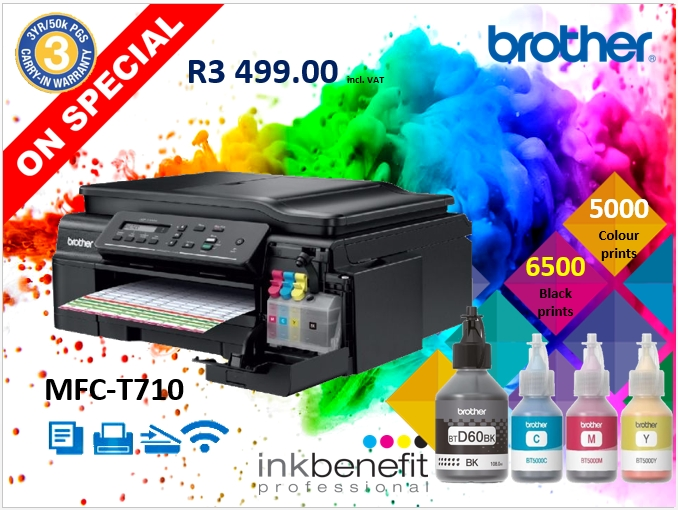 Brother T710 Ink tank Printer