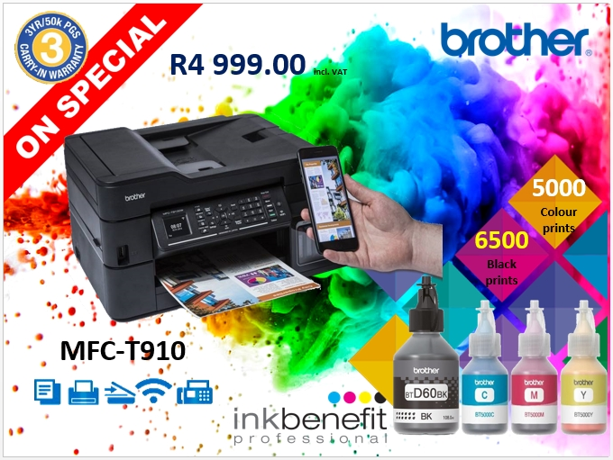 Brother T910 Ink tank Printer