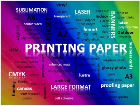 Discspeed Printing Papers