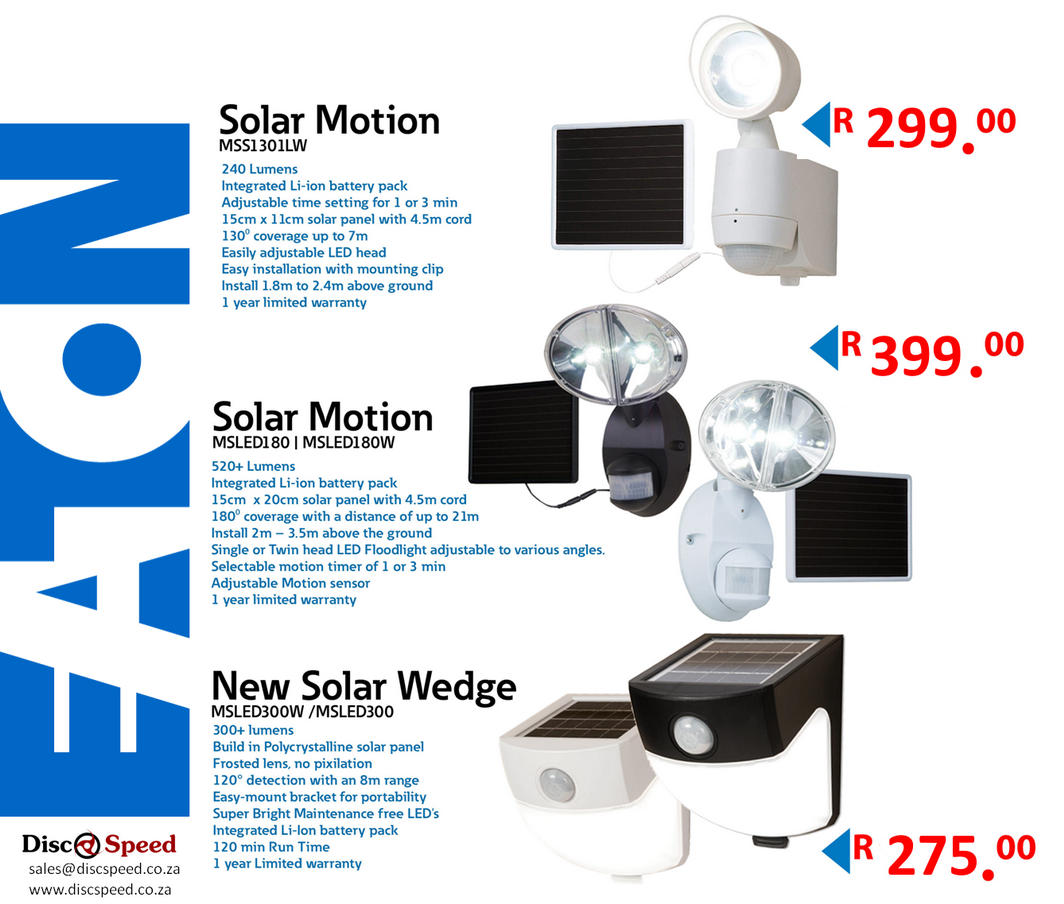 Eaton Solar Lights