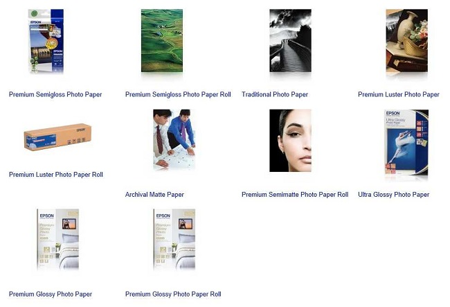 EPSON Photo Papers - Epson Ink Tank Printers available from Discspeed