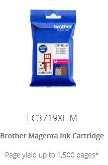 Brother LC3719XLM High yield Magenta ink cartridge