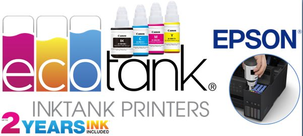 Epson L605 Ink Tank Printer - Epson Ink Tank Printers available from