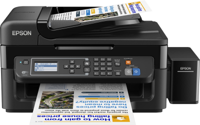 Epson L565 with Copy, Scan, FAX - Epson Ink Tank Printers available
